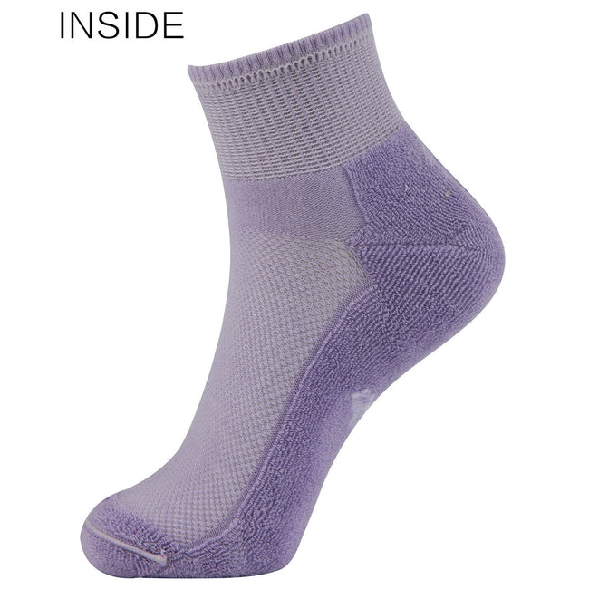 MD Best Bamboo Seamless Ankle Socks Colourful