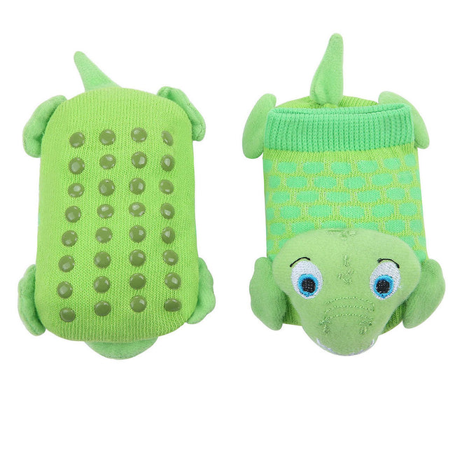 Wild Habitat Baby Non-Slip socks-Alligator Pattern