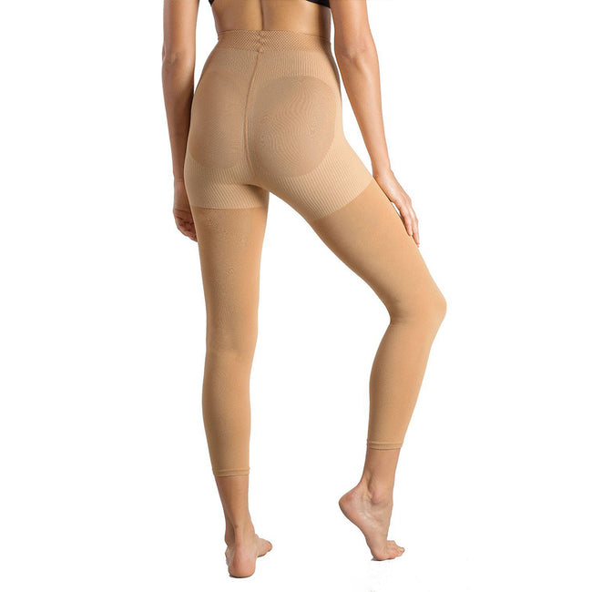 MD 15-20mmHg Warm Footless Compression Pantyhose For Winter