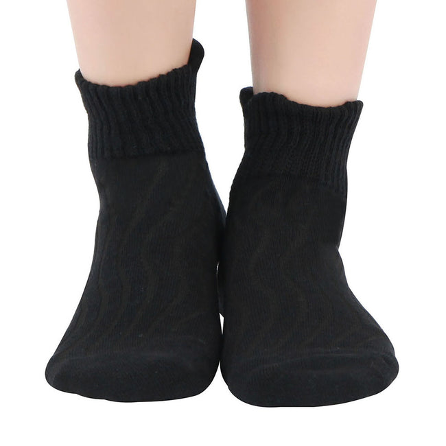 MD Cotton Non-Binding Ankle Diabetic Socks Cushion Loose