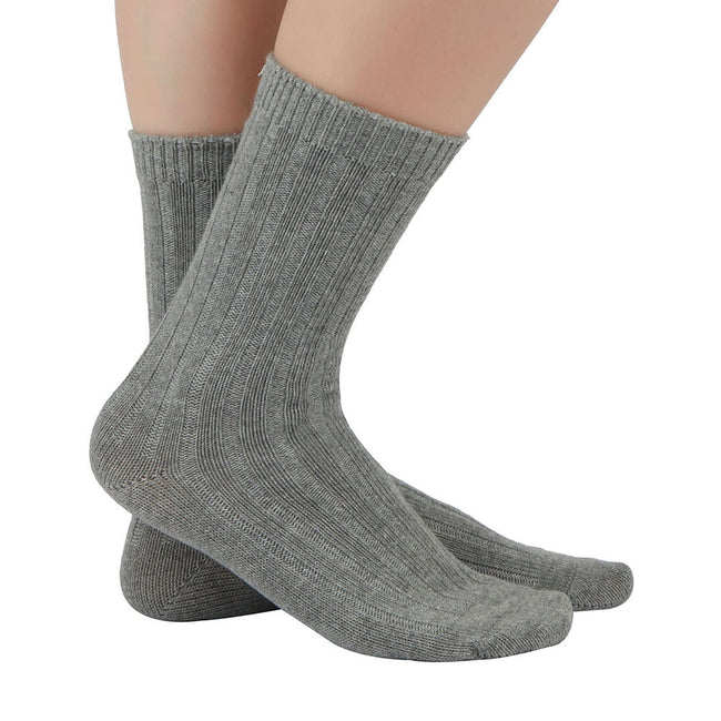 MD Cotton Non-Binding Unisex Circulatory Crew Socks