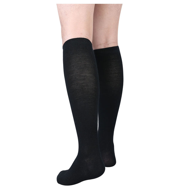 MD 15-20mmHg Wool Compression Knee High Socks