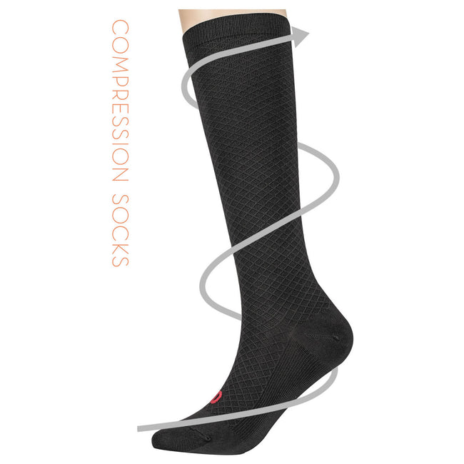 MD 8-15mmHg Compression Socks Nurses Athletic Maternity