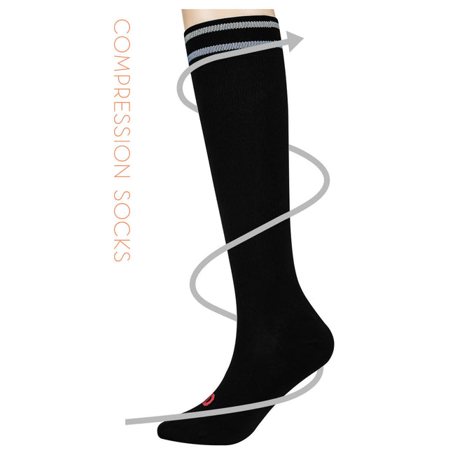 MD 8-15mmHg Fashion Nurses Compression Socks Athletic Shin Splints