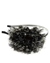 Load image into Gallery viewer, Addison - Frayed animal print ruffle headband