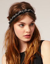 Load image into Gallery viewer, Willow - Chain brocade headband