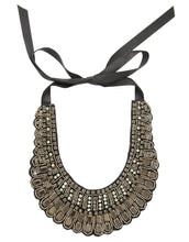 Load image into Gallery viewer, Leah - Beaded bib neckpiece