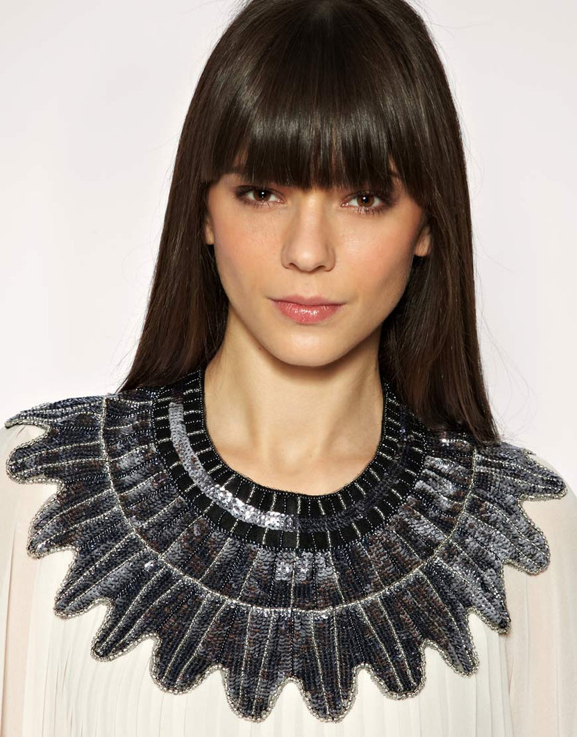 Coco Sequinned Capelet