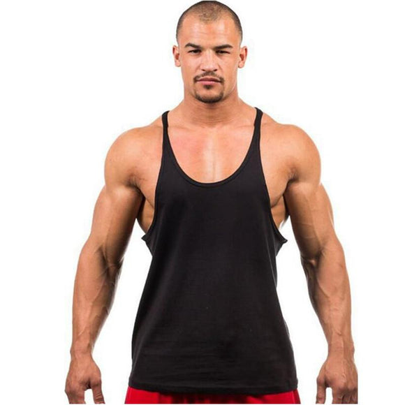 Men's basic fitness  training vest