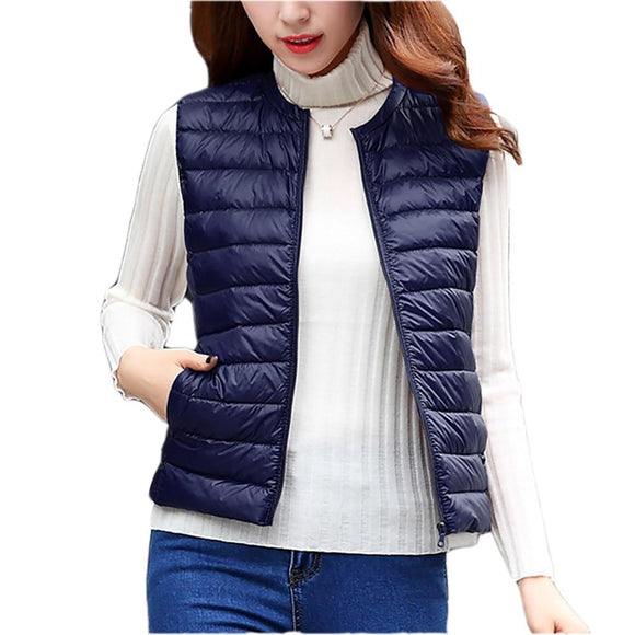 Women  Light White Vest