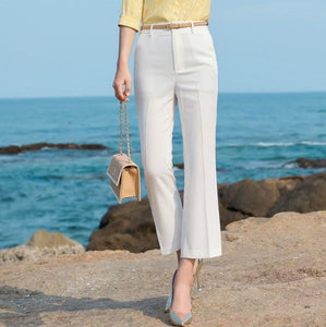 Womens Formal Flare Suit Pants
