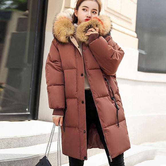 Winter Hooded Warm Down Coat