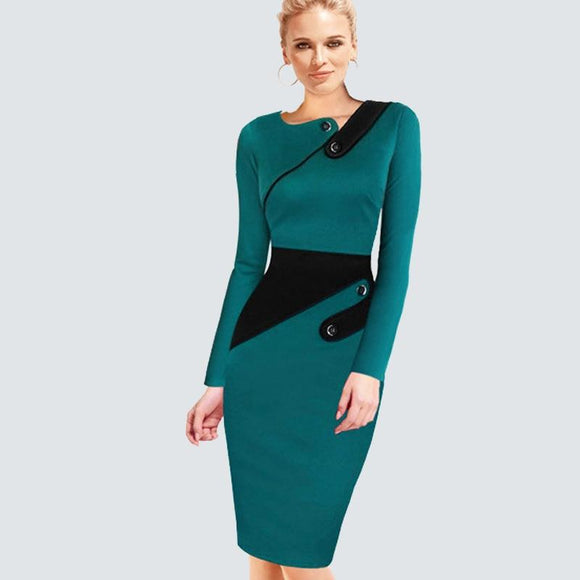 Women Office Business Dress