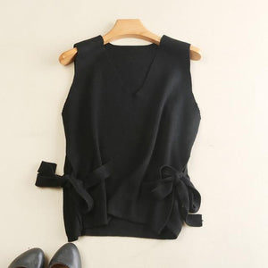 Female  Women V-Neck Vest