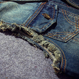 Jean Men's Denim Vest