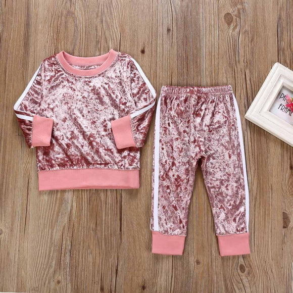 children's clothing girl   Clothes Set