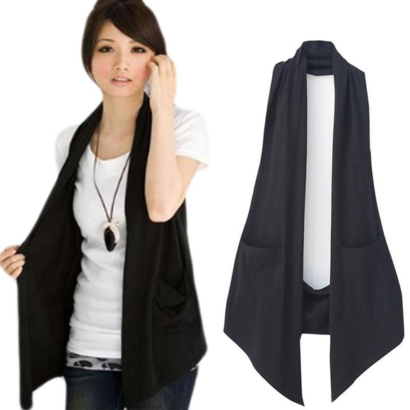 Spring  Women Casual  Vests