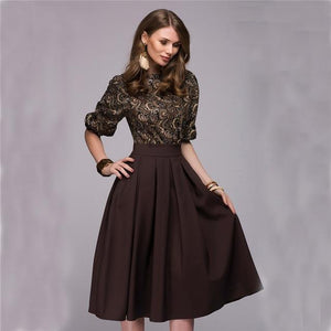 Office Lady Elegant Dress