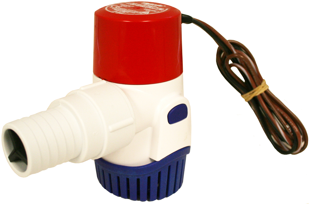 1100GPH Submersible Bilge Pump - Automatic - 24V