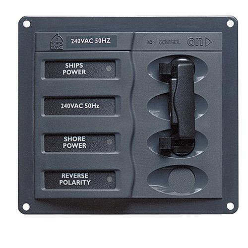 'ContourAC' Circuit Breaker Control Panel - Circuit: 2 + mains