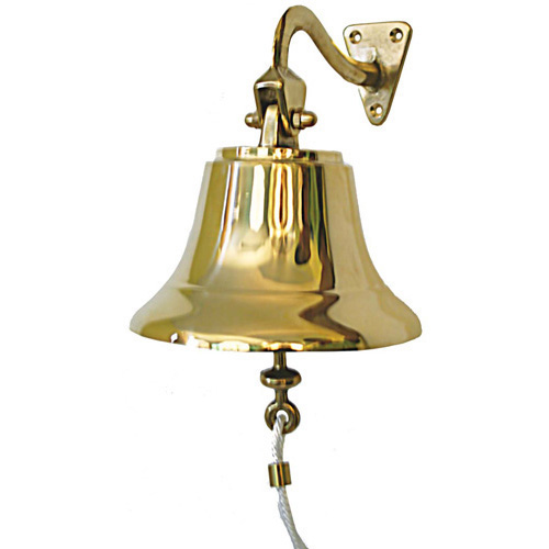 Traditional Bronze Ships Bell