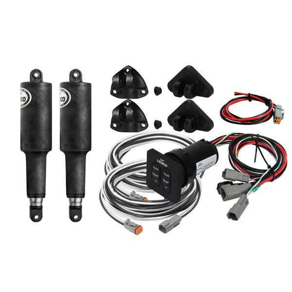 Trim Tab Electric Actuator Kit (No Plates) Series 101 - Standard Integrated Panel - 12V