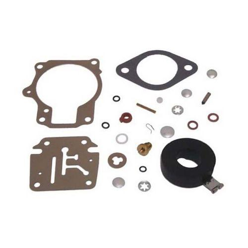 Carb Kit - Johnson/Evinrude (with float) - Replaces: 392061, 398729, 396701