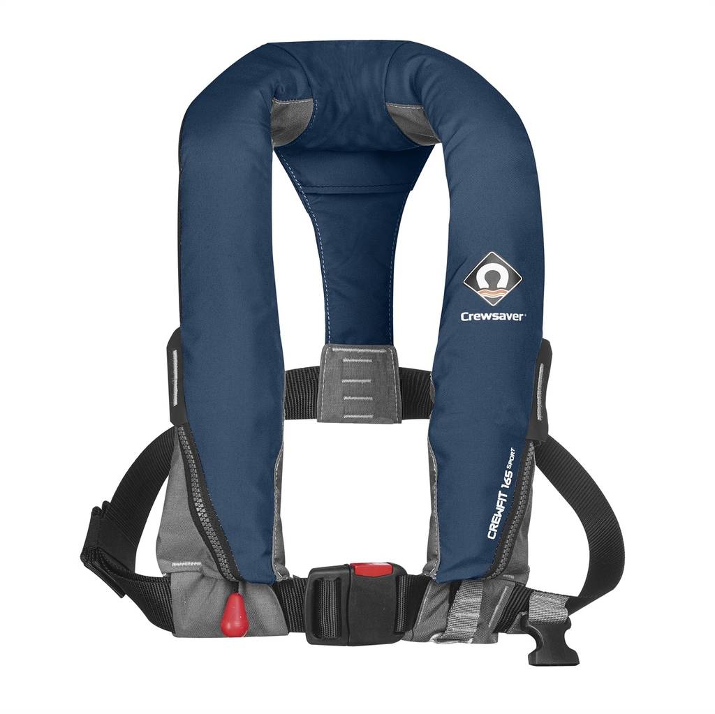 Crewfit 165N Sport Lifejacket - Manual  - Non Harness (Aus) - Navy Blue