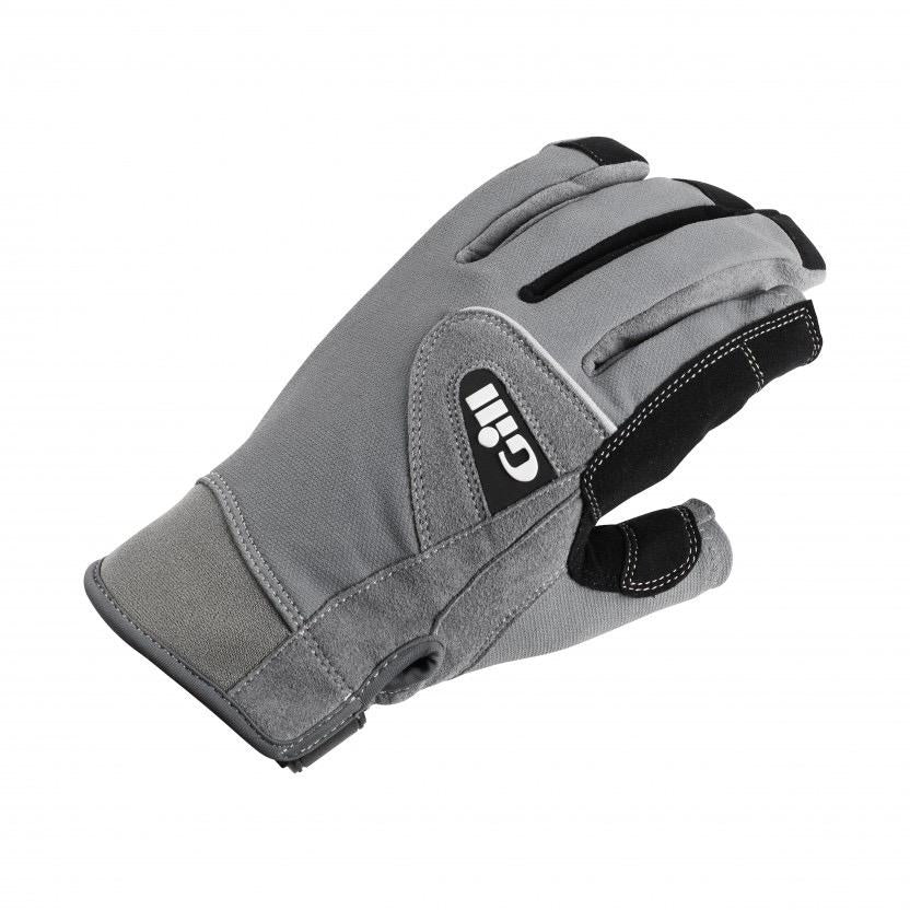 Deckhand Gloves - Long Finger - Grey