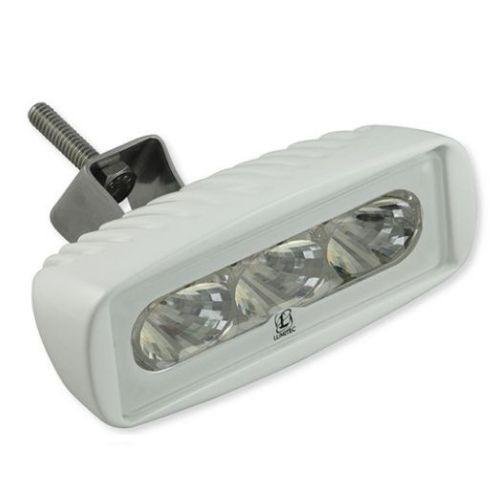 CapreraLT Flood/Spreader Light White Finish - Color Output: White 10-30V - 1000+ Lumens