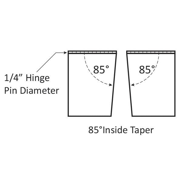 "Trim Tab Tapered Plate Kit - Electro Polished - 16""(L) x 12""(W) - 12V (Switch Kit Required)"
