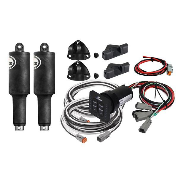 "Trim Tab Electric Actuator Kit (No Plates) ""Short "" Series 101 XDS - LED Integrated Panel - 12V"