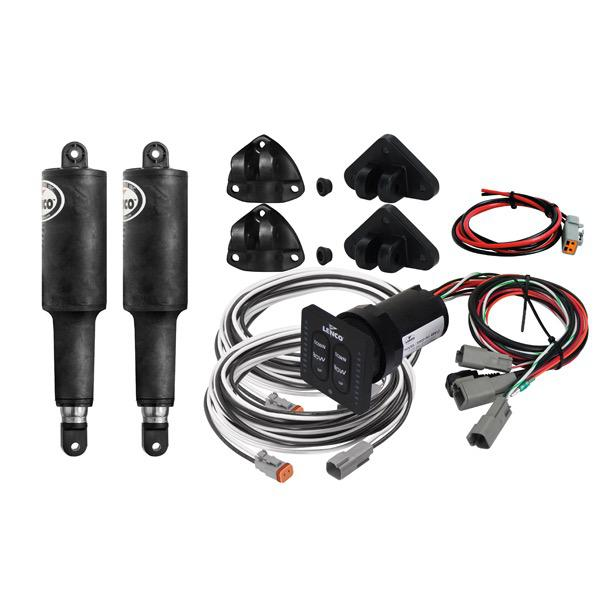 Trim Tab Electric Actuator Kit (No Plates) Series 101 - LED Integrated Panel - 12V