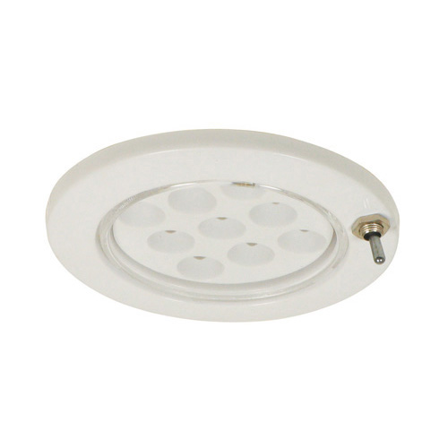 Mini Dome Light - LED Recessed Switched - Overall Dia: 72mm