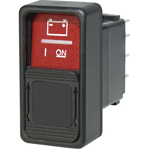 Switch Contura SPDT ON / ON Red Gua