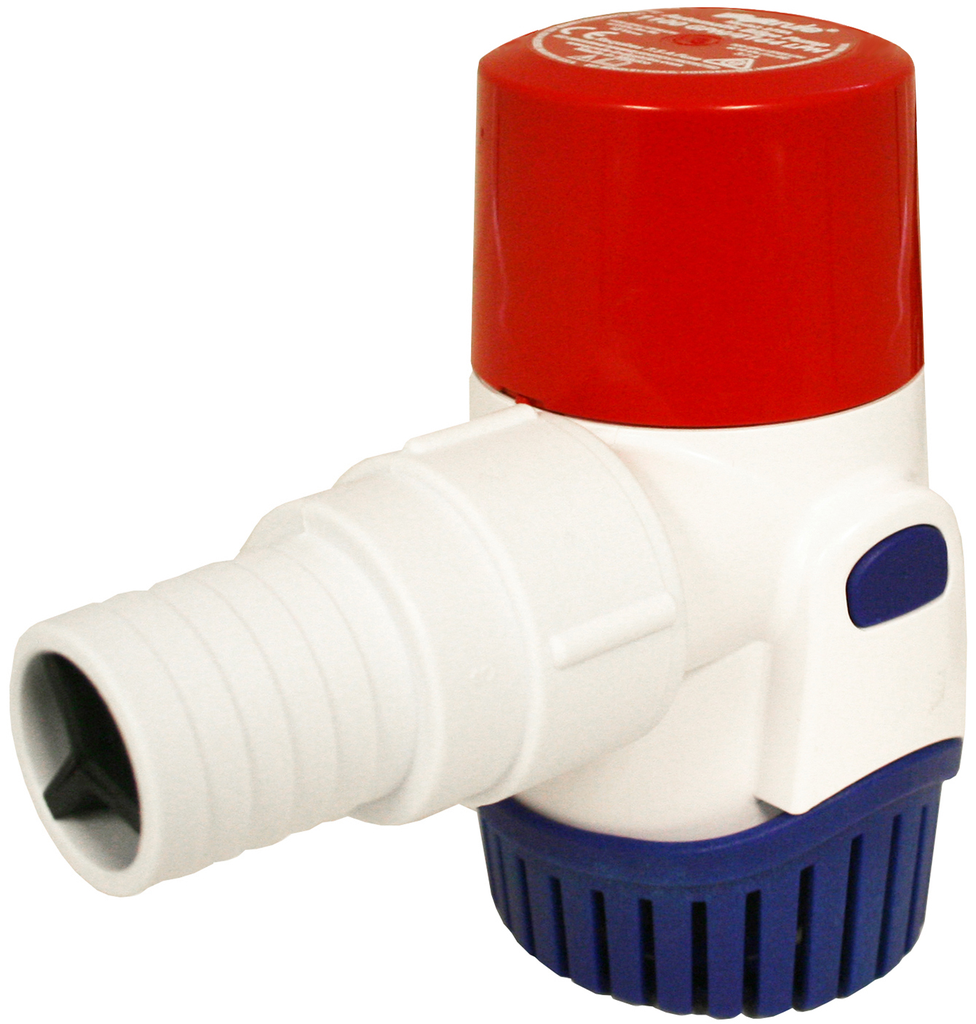 1100GPH Submersible Bilge Pump - Automatic - 12V