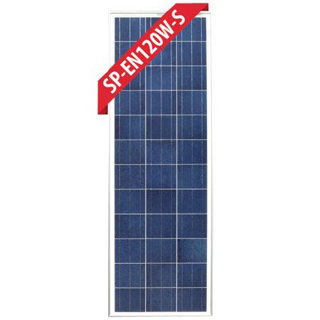 120W Slim Fixed Poly Solar Panel
