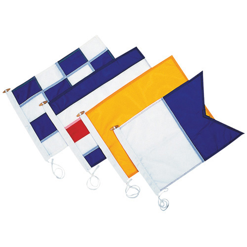 N - Code Flag - No or Negative, Abandonment and re-sail (Sailing regatta)