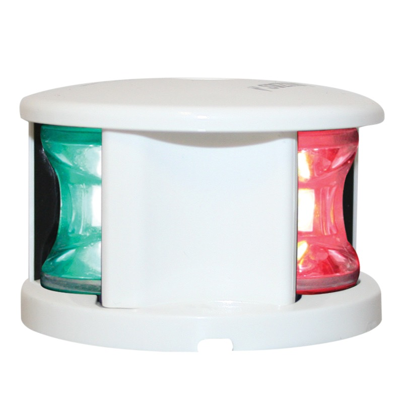 Tri-Colour Light - LED - 12V - White Housing