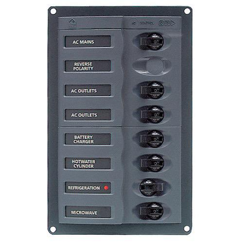 'ContourAC' Circuit Breaker Control Panel - Circuit: 6 + mains
