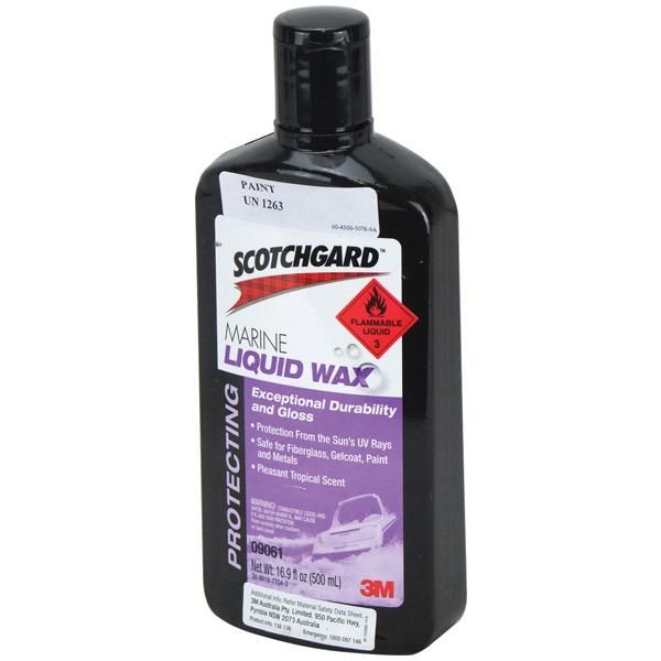 'Scotchgard' Marine Liquid Wax