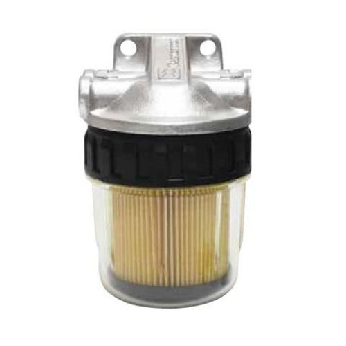 Filter Fuel See-Thru No Bowl Alloy Head
