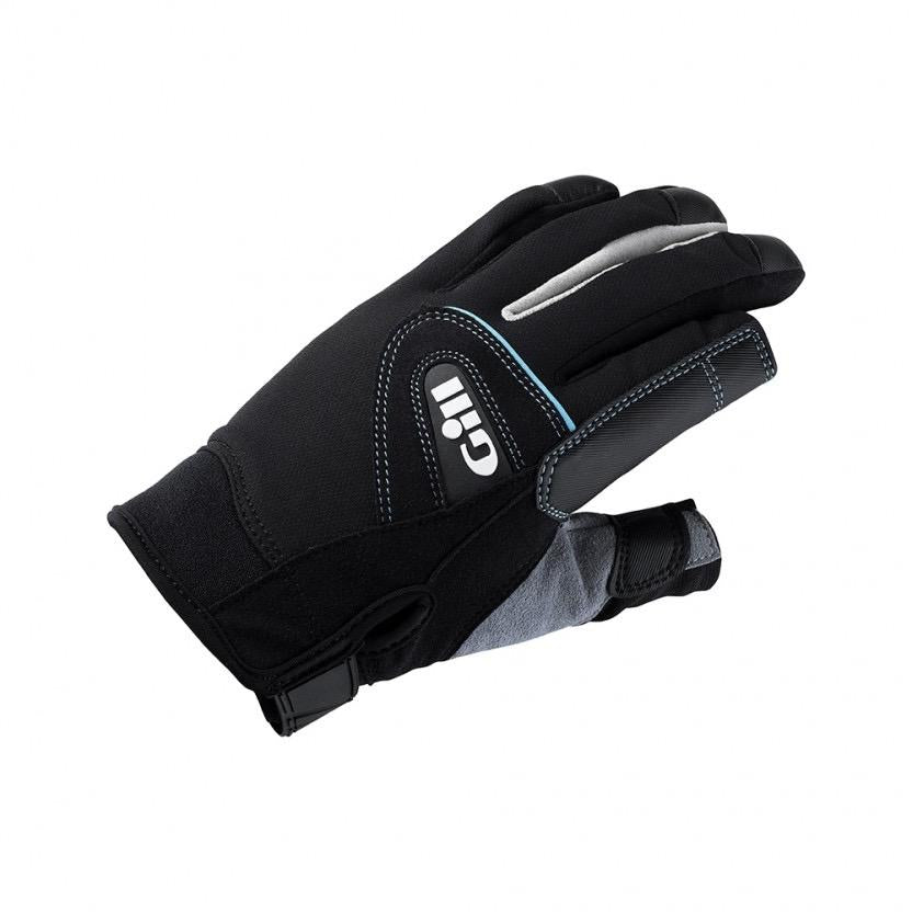 Womens Championship Gloves - Long Finger - Black/Grey