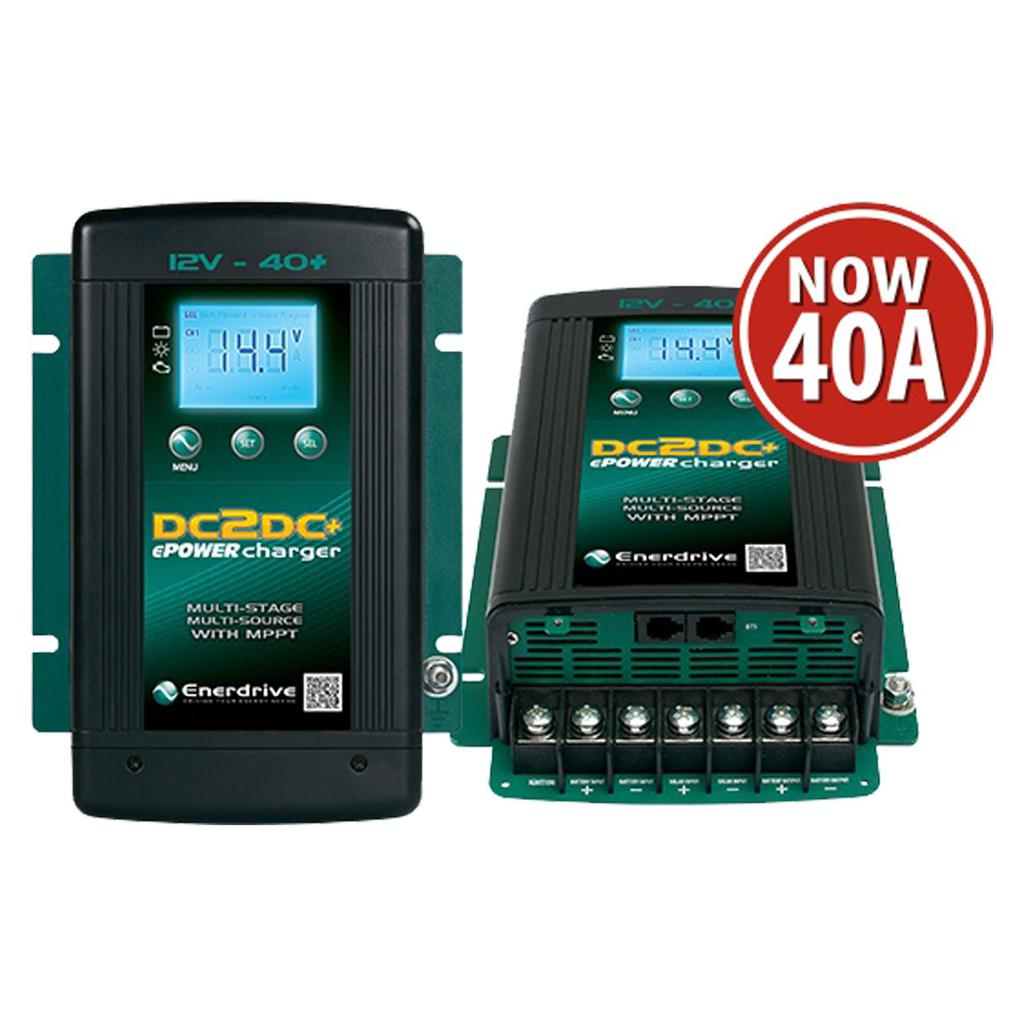 ePOWER 12V 40A DC to DC Battery Charger