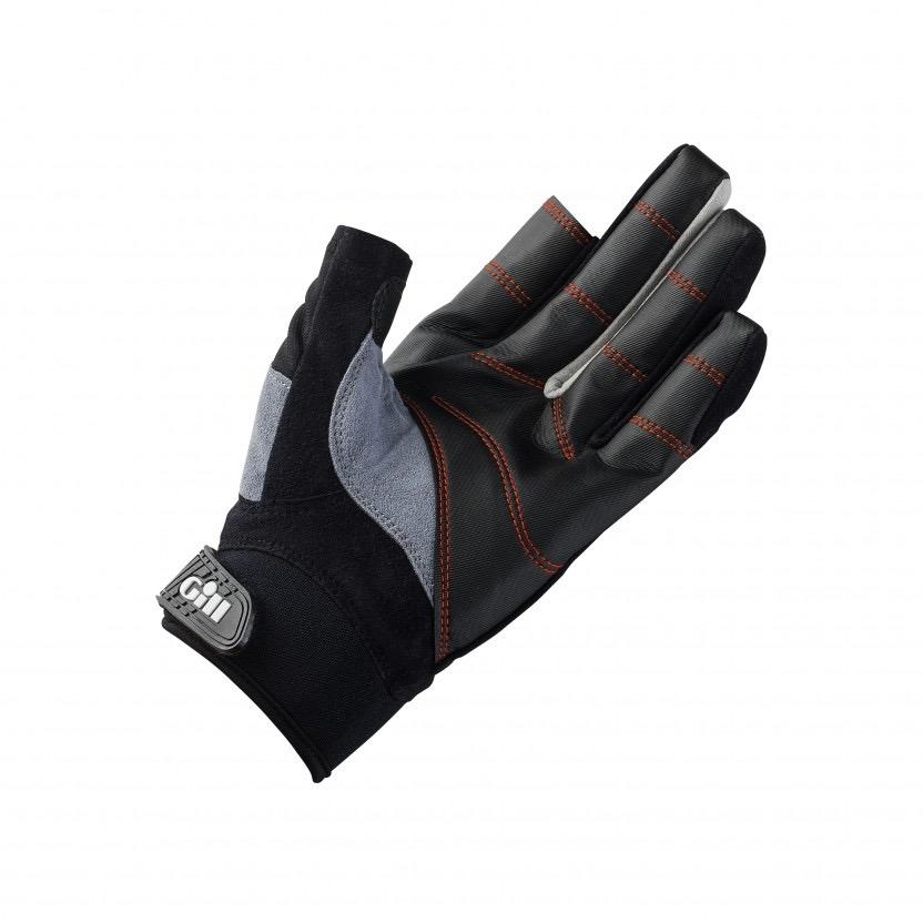 Championship Gloves - Long Finger - Black/Grey