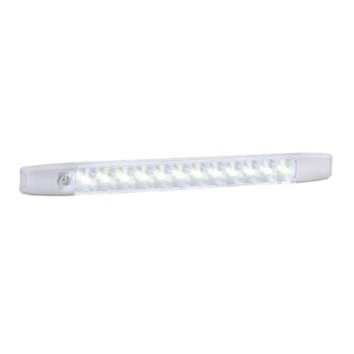 12 Volt Dual Colour L.E.D Strip Lamp White/Red with Touch Switch (Boxed Pack of 1)