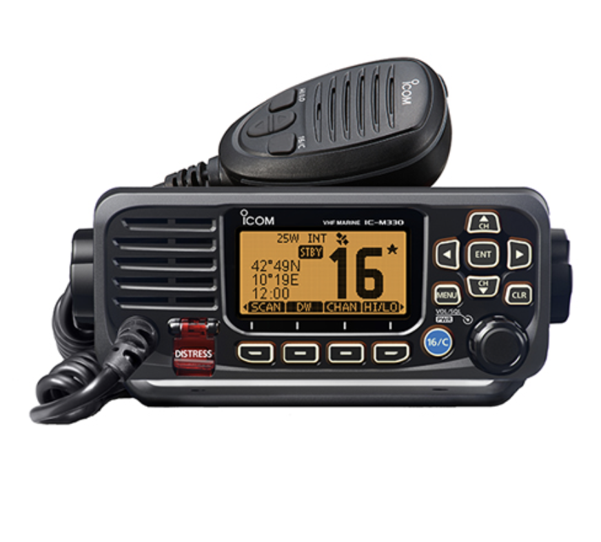 Ultra Compact VHF with DSC & GPS - Black