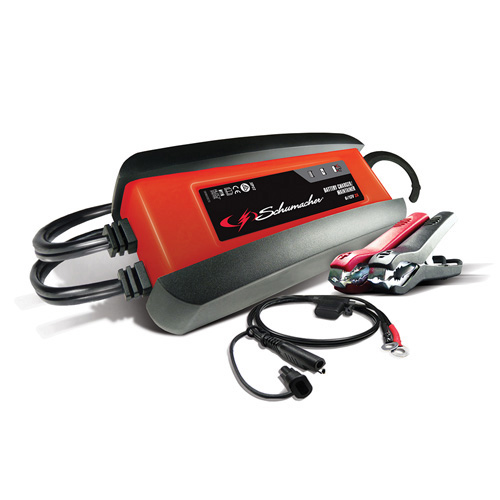 2A Fully Automatic Charger/Maintainer Ideal for Power Sport, Car & Boat batteries