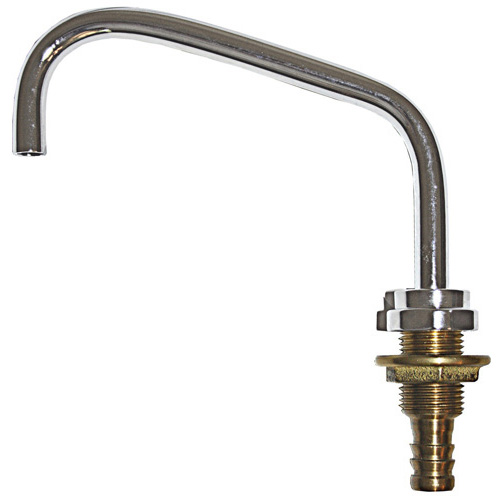 Galley Faucet - C/P Brass