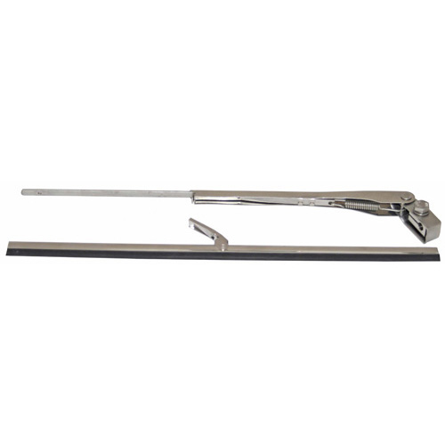 Wiper Set - Standard - Stainless Steel - With Cover